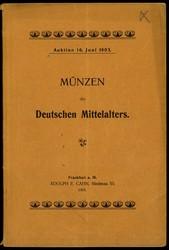 130.100: Numismatic Literatur - Auction Catalogues