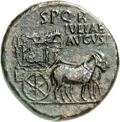 10.30.20: Ancient Coins - Roman Imperial Coins - Livia, Wife of Augustus