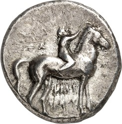 10.20.90.10: Ancient Coins - Greek Coins - Calabria - Tarentum