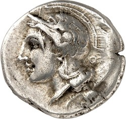 10.20.100.70: Ancient Coins - Greek Coins - Lucania - Velia
