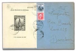 7252: Sammlungen und Posten Spanien Lokalausgaben