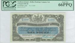 110.150.60: Banknoten - Großbritannien - Nordirland
