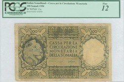110.550.157: Banknoten - Afrika - Italienisch Somaliland