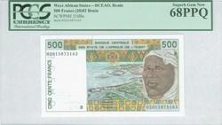 110.550.60: Banknoten - Afrika - Benin