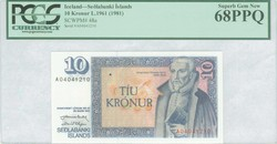 110.190: Banknotes - Iceland