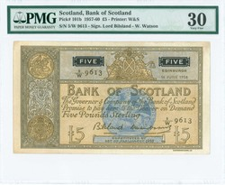 110.150.50: Banknotes - Great Britain - Scotland