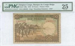 110.550.55: Banknotes – Africa - Belgian Congo