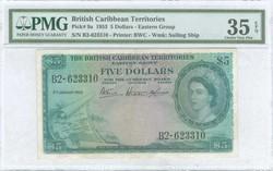 110.560.65: Banknotes – America - British Carribean Territorries
