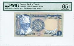 110.550.380: Banknotes – Africa - Sudan