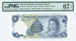 110.560.165: Banknotes – America - Cayman Islands