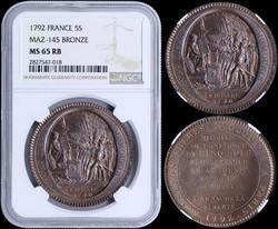 40.110.10.340: Europe - France - Kingdom of France - Louis XVI, 1774 - 1792