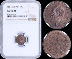 40.200.370.10: Europe - Italy - Kingdom - Victor Emmanuel II, 1861-1878