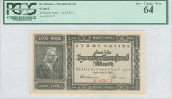 110.80.20.40: Banknotes - Germany - German Empire from 1871 - Inflation period 1919-24