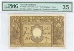 110.550.157: Banknotes – Africa - Italian Somaliland