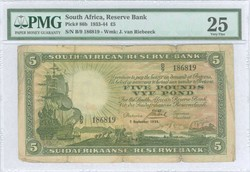 110.550.390: Banknotes – Africa - South Africa