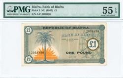 110.550.70: Banknoten - Afrika - Biafra