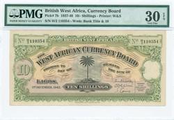 110.550.85: Banknoten - Afrika - Britisch Westafrika
