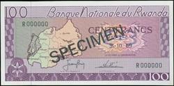 110.550.310: Banknotes – Africa - Rwanda