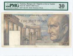 110.550.450: Banknoten - Afrika - Tunesien