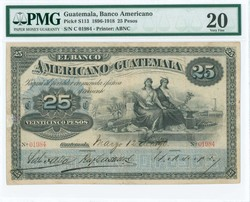 110.560.130: Banknotes – America - Guatemala