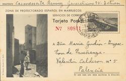 4385: Marokko Nordzone - Ganzsachen