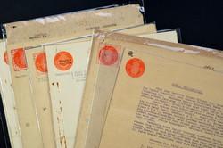 7468: Sammlungen und Posten Japan Besetzung II. WK Niederl. Gebiete - Verrechnungsmarken