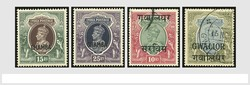 7461: Collections and Lots Indian Convention States - Bulk lot