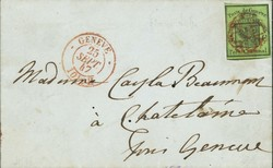 Briefmarken Helvetia 36. - Los 48