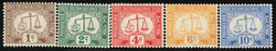 2980: Hong Kong - Postage due stamps