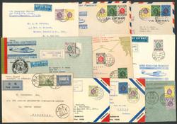 2980: Hong Kong - Covers bulk lot