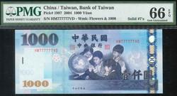 110.570.110.40: Banknotes – Asia - China - Taiwan