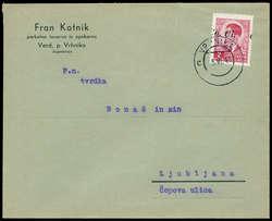 3485: Italien Besetzung II. WK Laibach