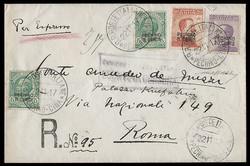 2070130: China Italienische Post