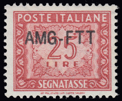 6285: Trieste Zone A - Postage due stamps