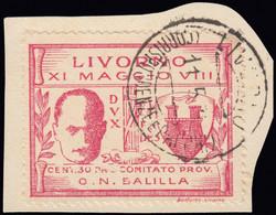 3476: Italy Reign Local Issue Livorno