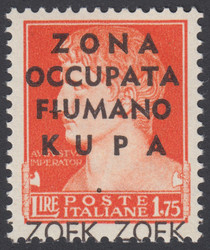 3480: Italien Besetzung II. WK Fiumerland-Kupa