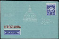 6630: バチカン - Postal stationery