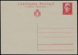 3415010: Italy Royal Mail - Postal stationery