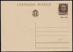 7161: Collections and Lots Italy and Areas - Postal stationery