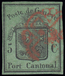 5645: Switzerland cantonal Genf