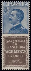 3415130: Italia Regno – Francobolli pubblicitari