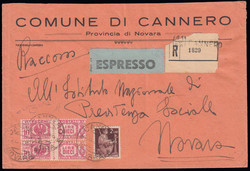 3415135: Italia Regno – Marche da bollo usate per posta - Parcel stamps