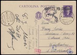 3415135: Italia Regno – Marche da bollo usate per posta - Postal stationery
