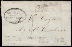 4410: Mauritius - Pre-philately