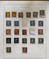 7160: Collections and Lots Italian States - Bulk lot