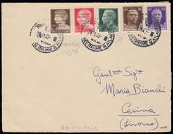 3430: Italien Militärpost Ausgaben Atlantikkueste
