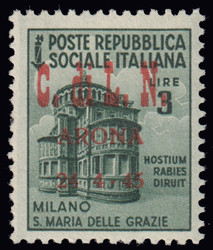 3512015: Italien Lokalausgaben C.L.N. Arona