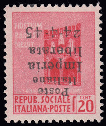 7999: Italien Lokalausgaben C.L.N. Imperia - Sammlungen