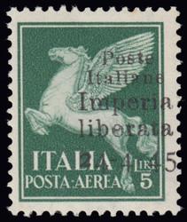 3512035: Italien Lokalausgaben C.L.N. Imperia - Flugpostmarken