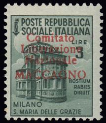 3512040: Italien Lokalausgaben C.L.N. Maccagno